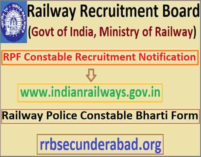 RPF Constable Recruitment 2019-20
