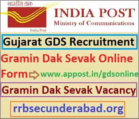 Gujarat Gramin Dak Sevak Recruitment 2019
